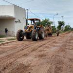 Obras y Servicios Públicos realizan diversas tareas en la barrios de la localidad