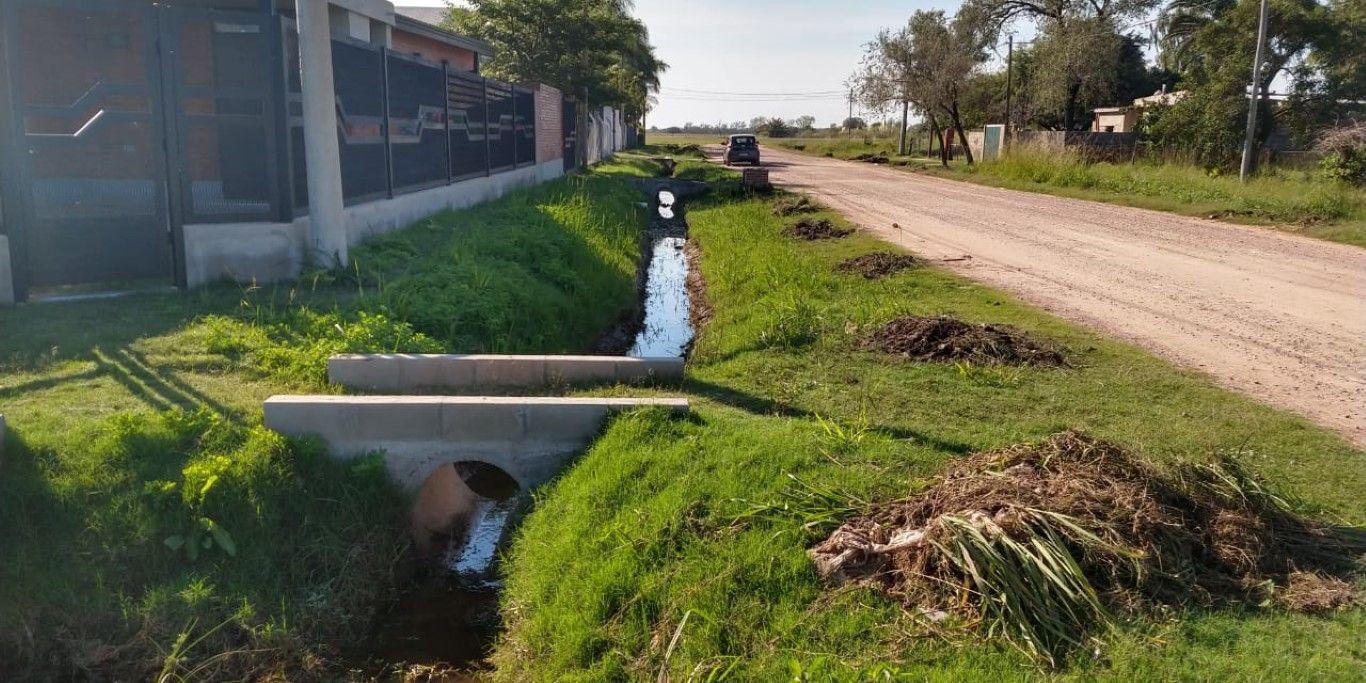 Muni desagües calle Gral Paz 3