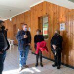 Reunión con diversas instituciones de San Cristóbal