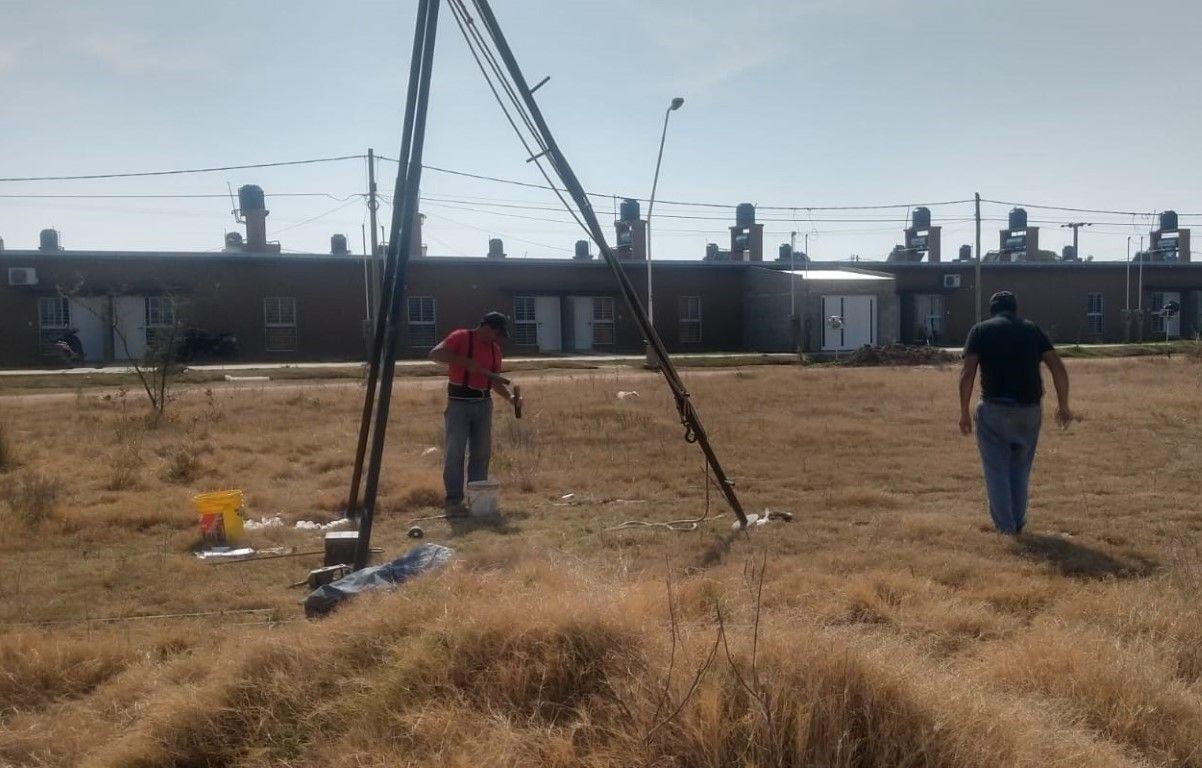 Viviendas en San Cristóbal estudio de suelo