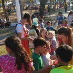 Festejos por el mes de la infancias en San Cristóbal